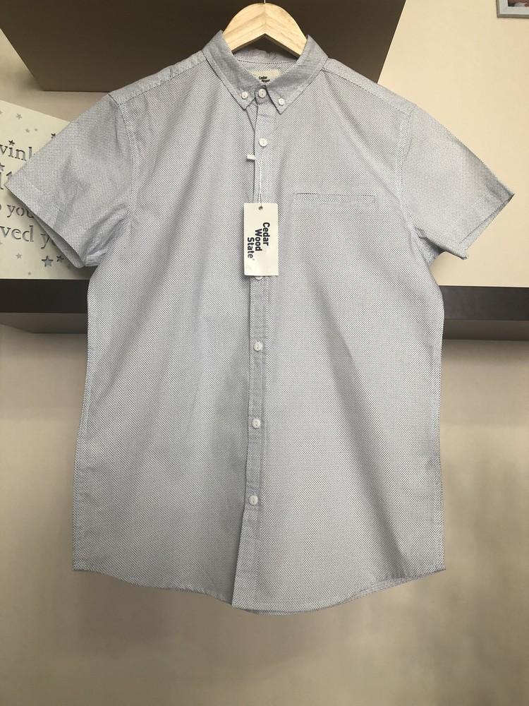 Мужская рубашка без рукавов, фото №1