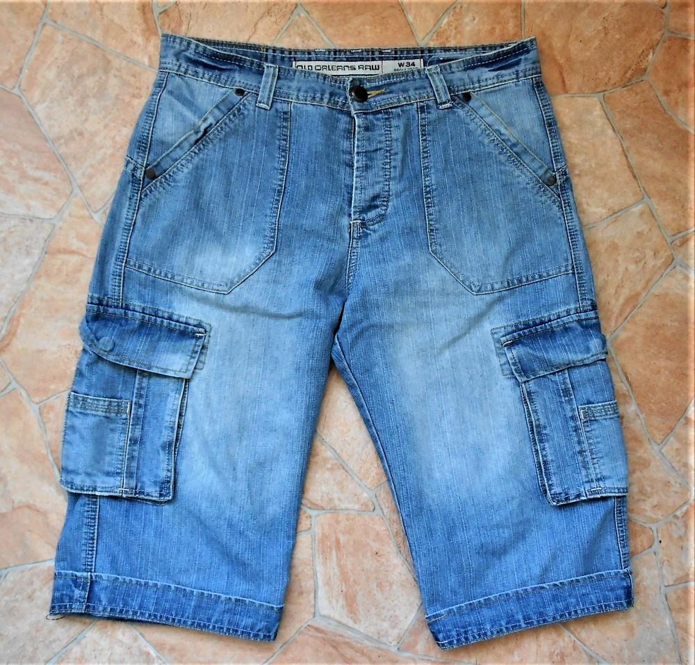 Бриджи old orleans jeans размер w34 (50-52) фото №1