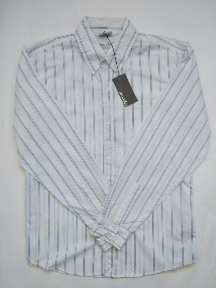Мужская рубашка длинный рукав размер xl фото №1