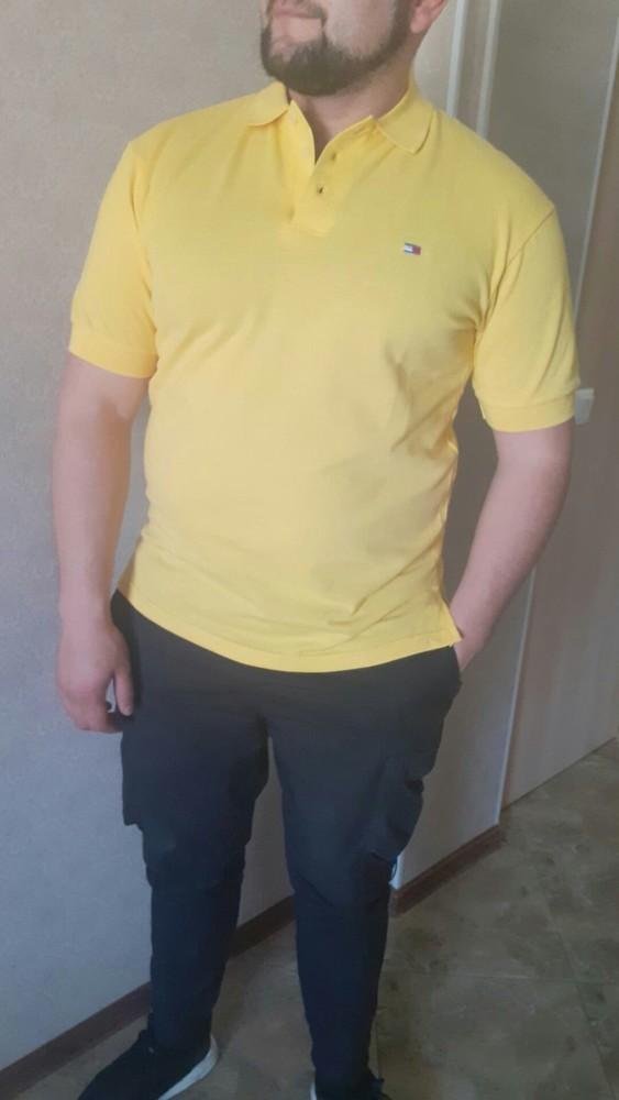 Мужская футболка поло классика фото №1