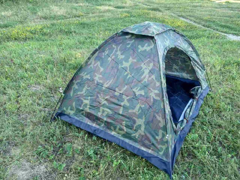 Палатка четырехместная 2*2,5 м водонепроницаемая фото №1