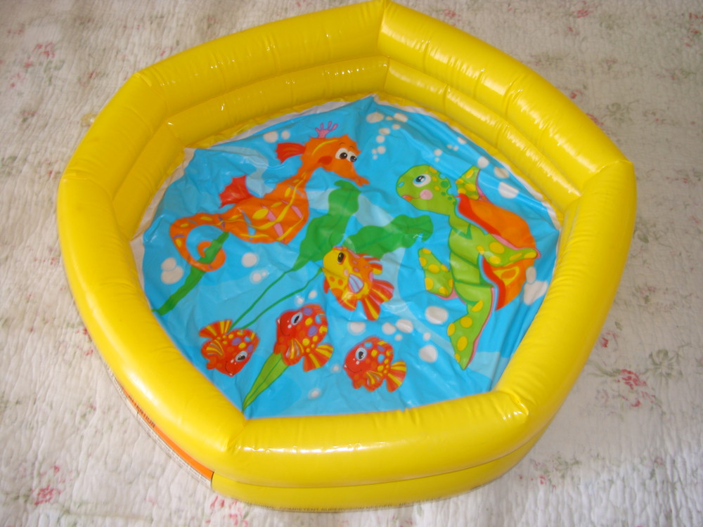 Надувной бассейн интекс фото №1