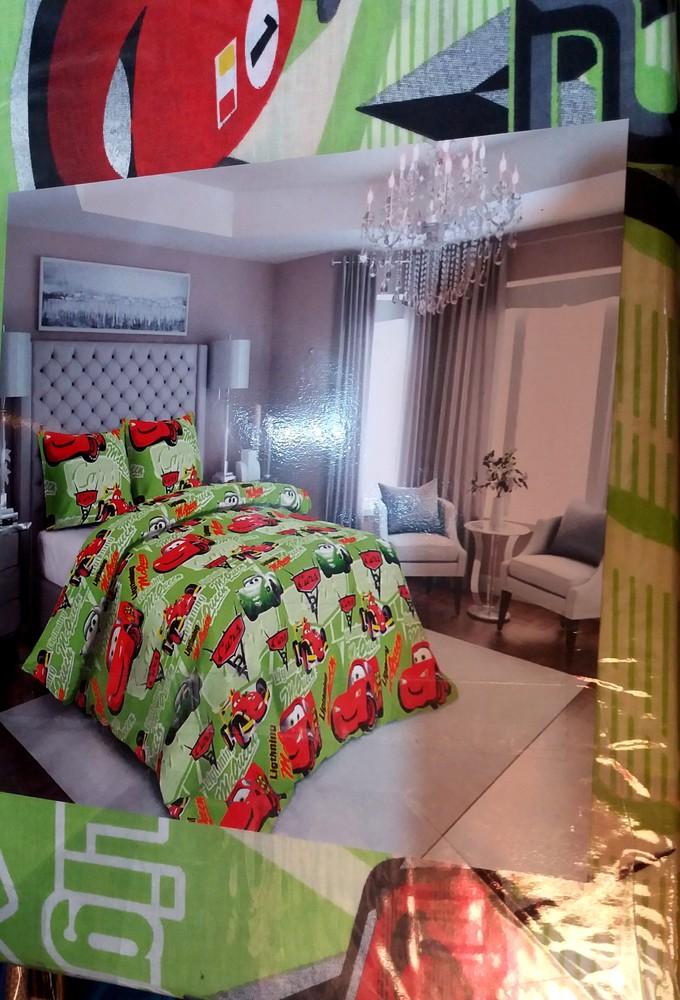 Детский полуторный комплект постельного белья, расцветки разные фото №1