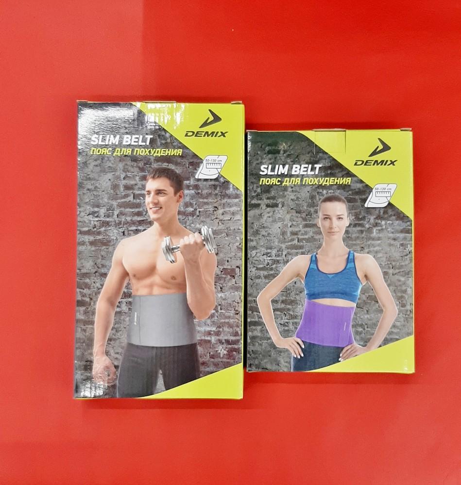 Пояс для похудения женский, мужской demix способствуют сокращению объёма талии фото №1