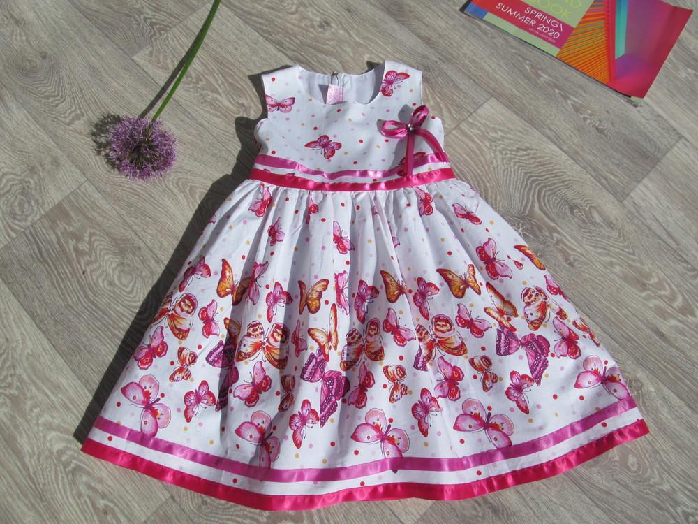 Нарядное платье для девочки. 110 р. фото №1