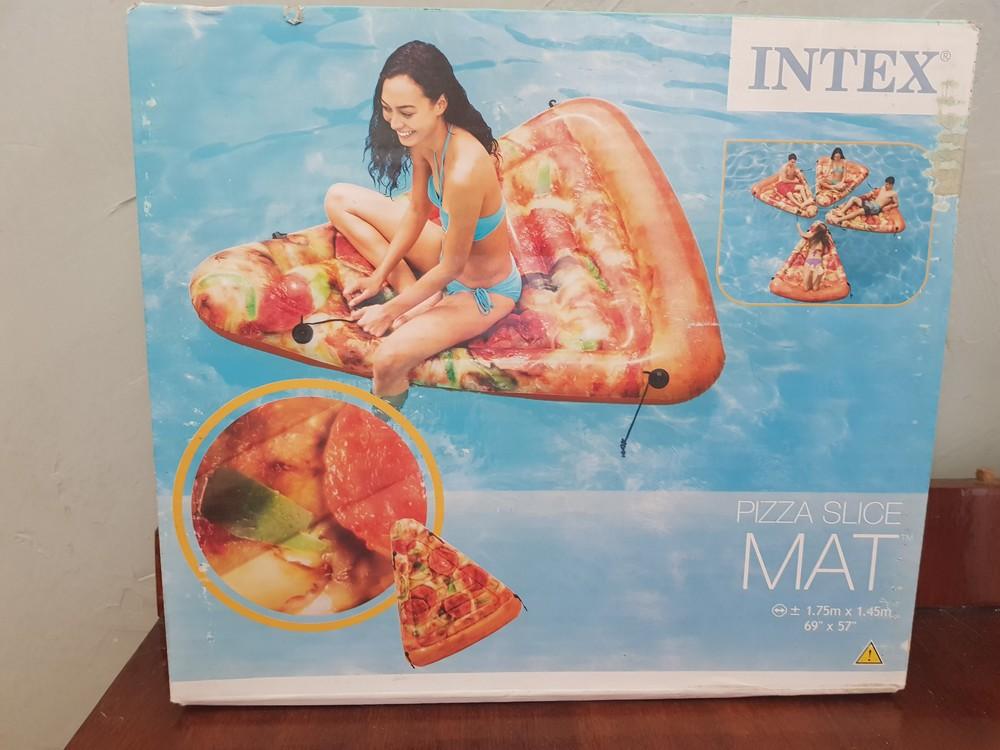 Надувний матрац , піца , пицца intex фото №1