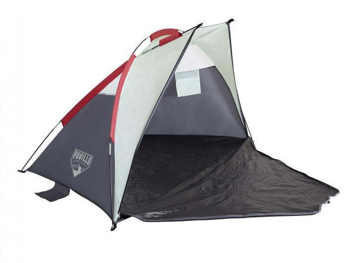 Пляжная палатка-тент pavillo bestway 68001 «ramble tent 2», 200х100х100 см фото №1