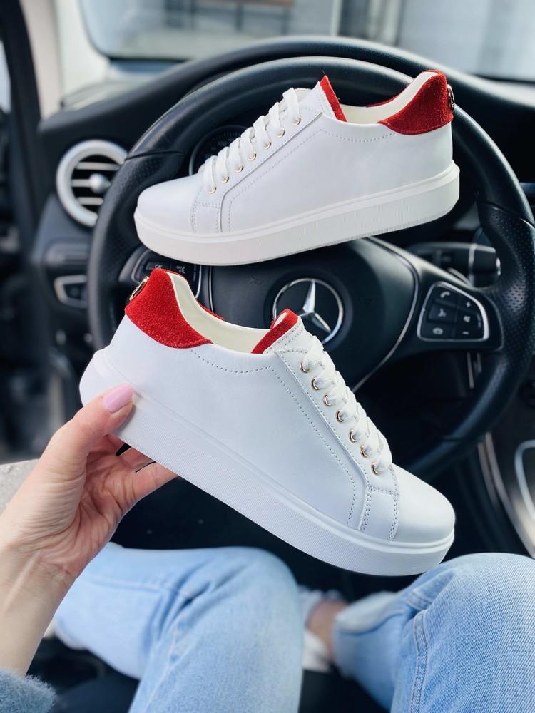 Кеды кроссовки женские кожаные от бренда abbi фото №1