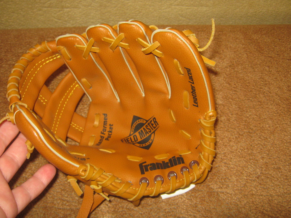 Кожаная перчатка ловушка franklin фото №1