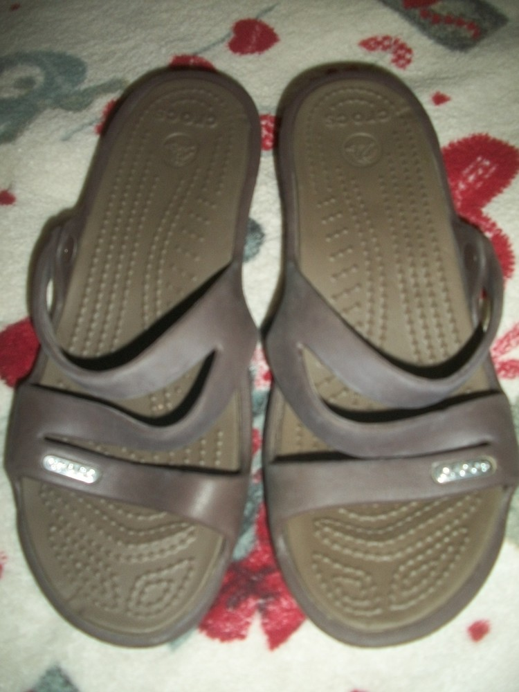 Шлепки кроксы 37 размер crocs крокс фото №1