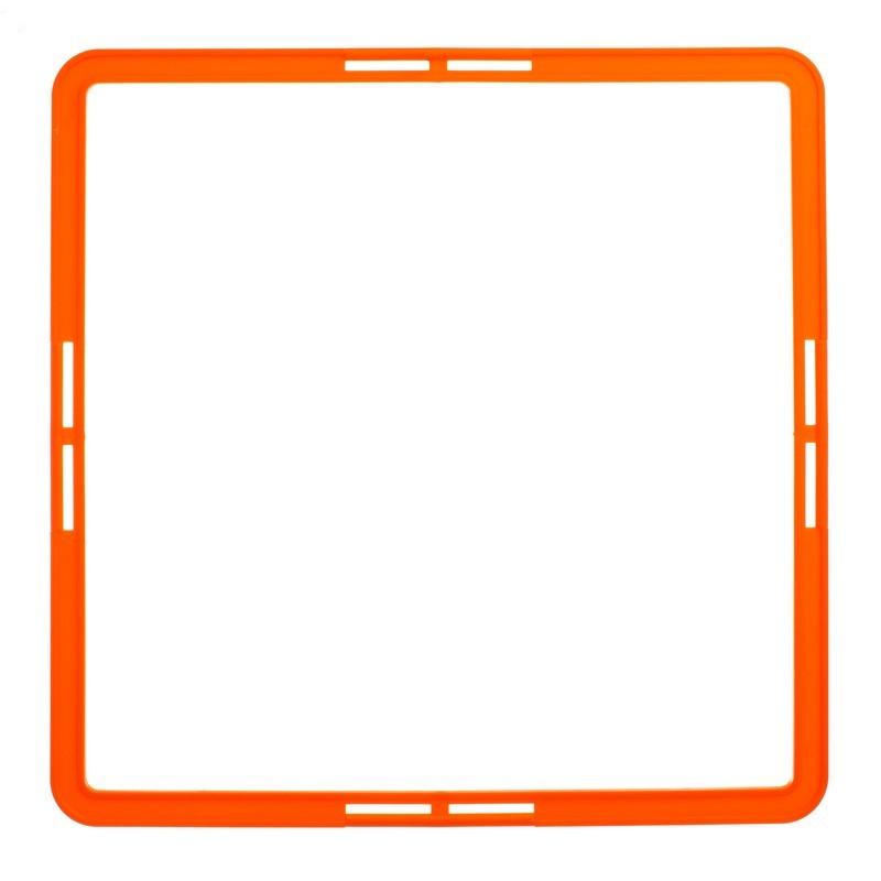 Тренировочная напольная сетка квадратная agility grid 1411: размер 42,5х42,5см фото №1