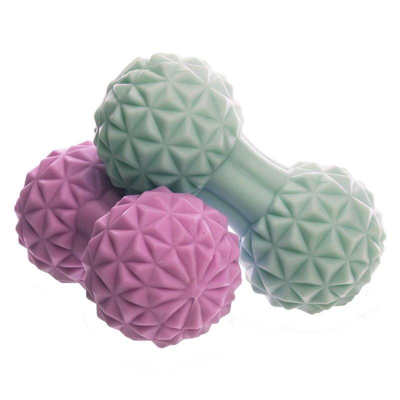 Массажер для спины duoball massage ball 1477: размер 12,5x6,5см (2 цвета) фото №1