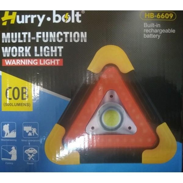 Светодиодный фонарь с аварийным освещением hb-6609 фото №1