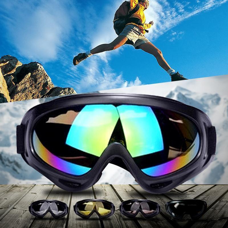 Крутые лыжные очки, маска сноуборд лыжи фото №1