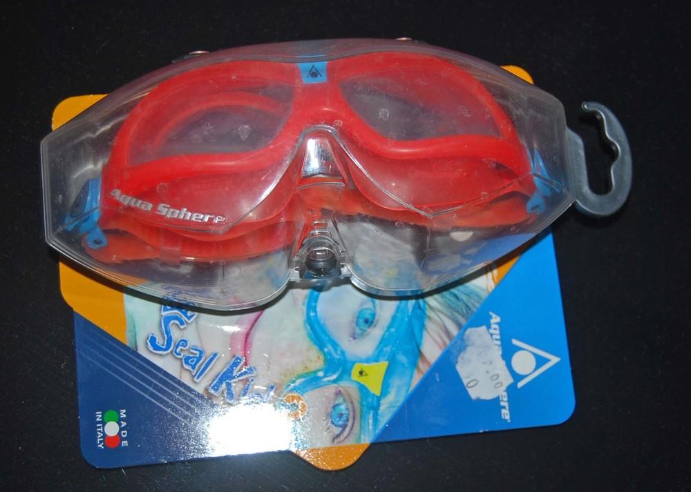 Маска/очки для плавания aqua sphere (италия) фото №1