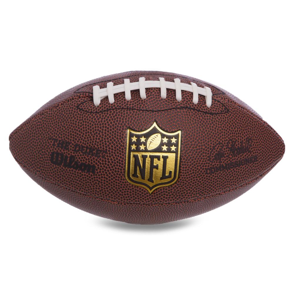 Мяч для американского футбола wilson nfl wtf1631: резина (коричневый цвет) фото №1
