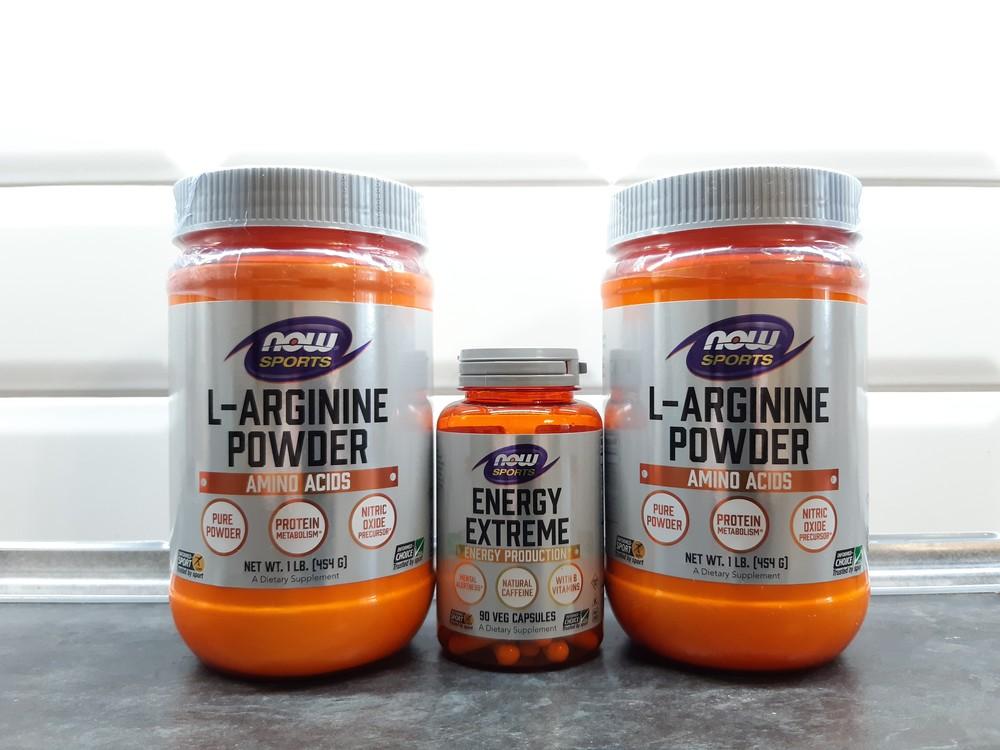 Now foods, l-arginine (454г, порошок), аргинин, l-аргинин, аргінін фото №1