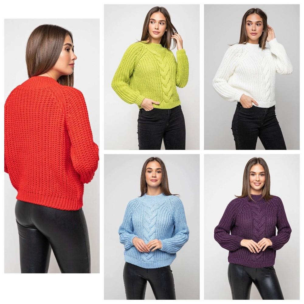 Стильный свитер 42-48 размер фото №1