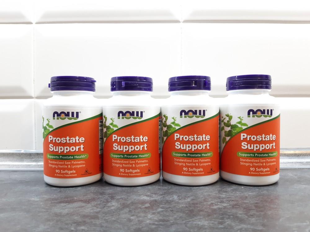 Now foods, prostate support (90 капс.), для предстательной железы, поддержка простаты фото №1