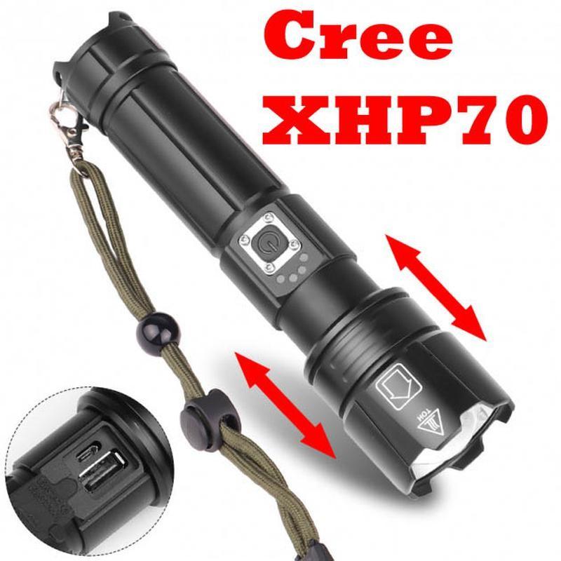 Ручной фонарь cree xhp70 x-balong bl-l5-70 p70 фонарик фото №1