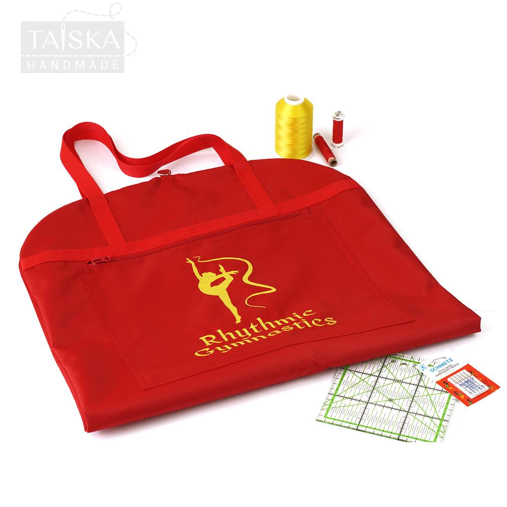 Красный чехол для гимнастического купальника от taiskahm фото №1