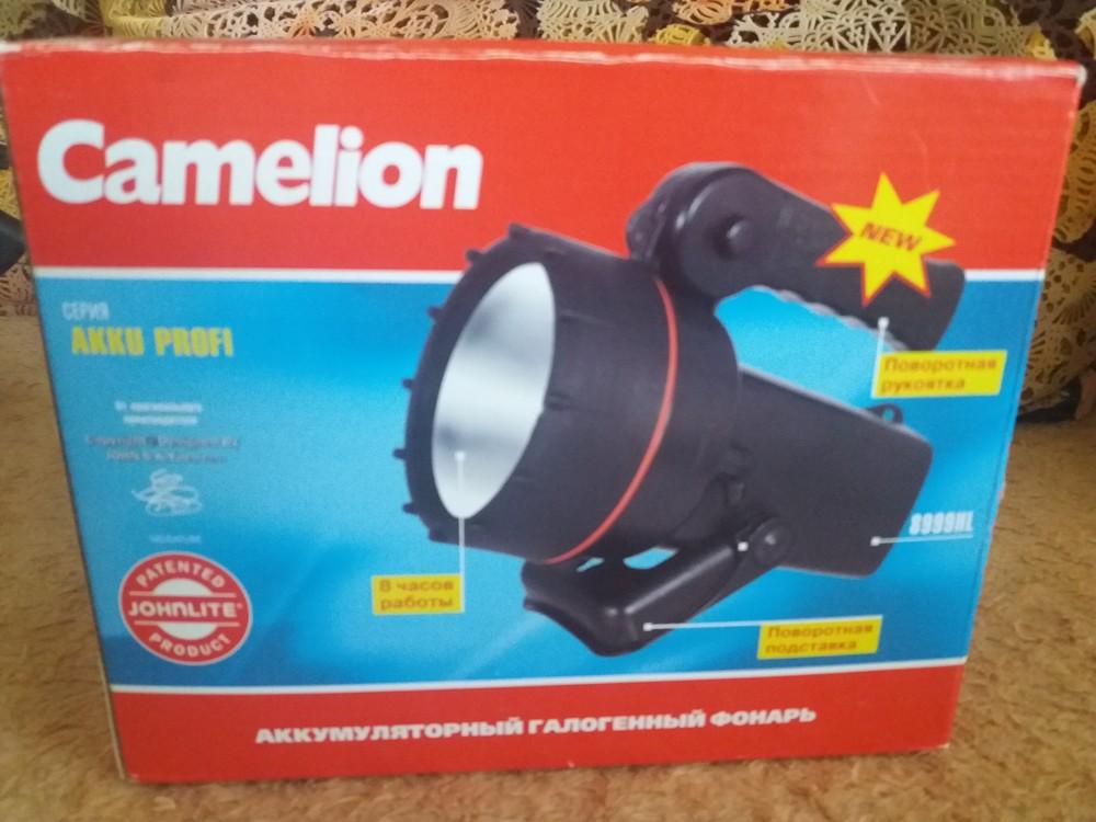 Аккумуляторный галогенный фонарь фото №1