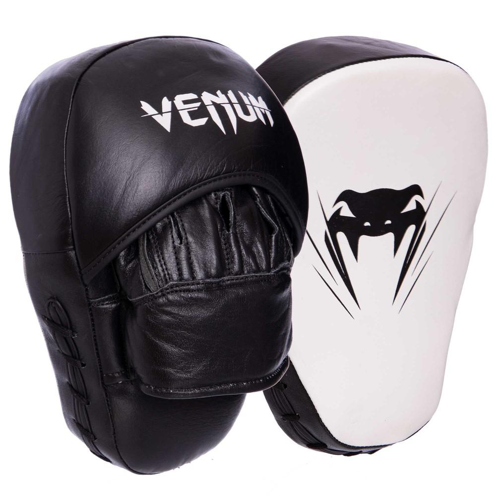 Лапа изогнутая кожаная venum performance 2051: крепление на липучке фото №1