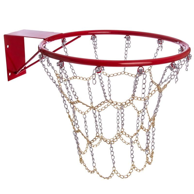 Сетка баскетбольная цепь 0814 (цепь для баскетбольного кольца): 12 петель фото №1