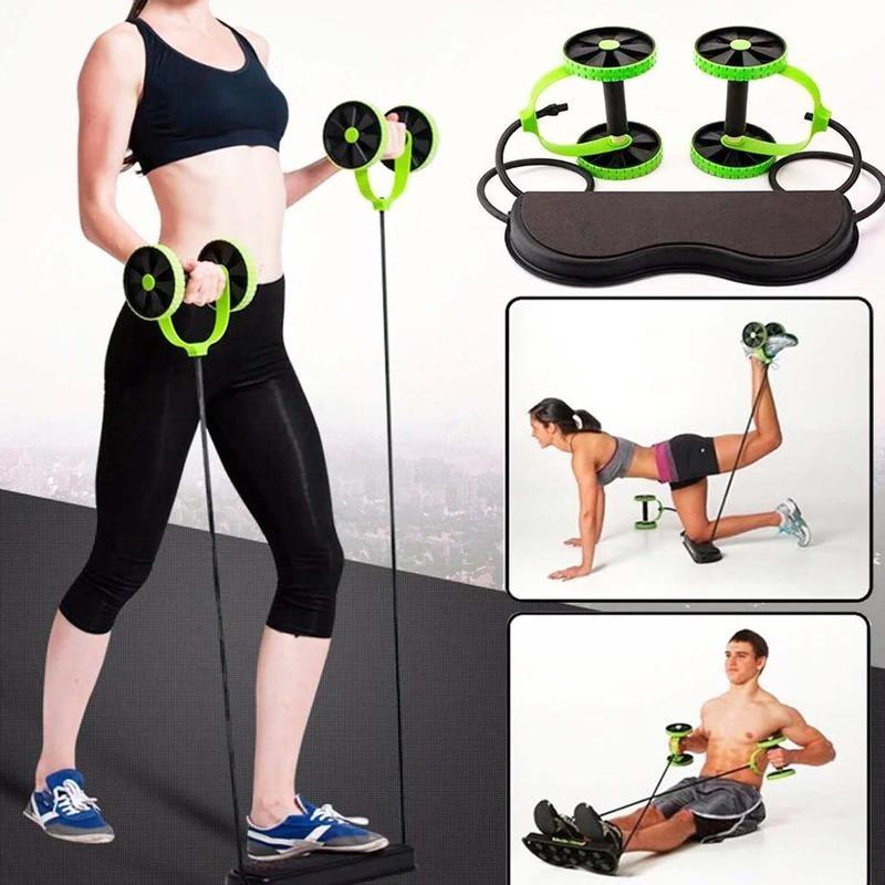 Тренажер revoflex xtreme для всего тела! 40 упражнений! роликовый тренажер фото №1