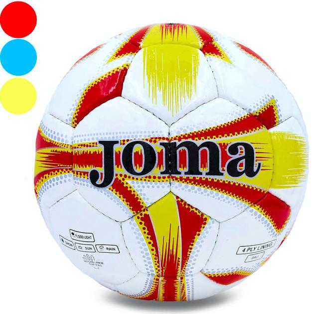 Мяч футбольный joma snake jm-4-1: размер №5 (сшит вручную) фото №1