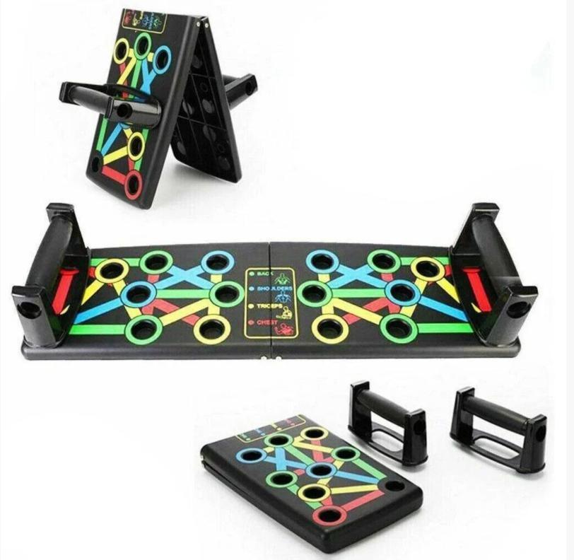 Платформа для отжиманий push up rack board, доска для отжиманий push up board фото №1