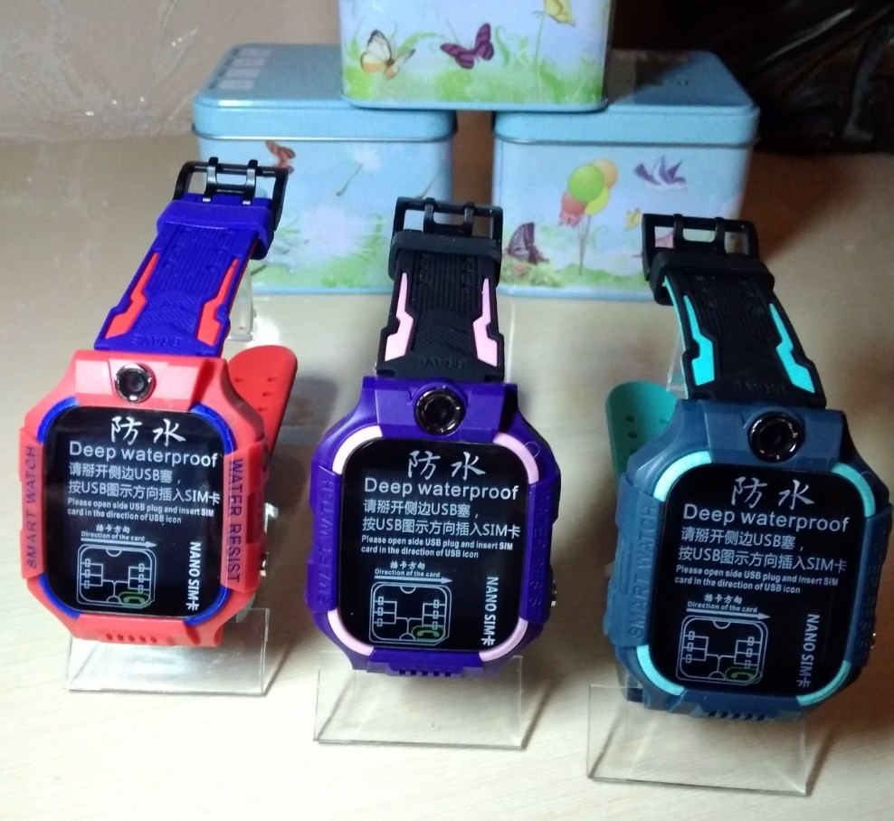 Детские умные часы smart baby watch w40 водонепроницаемые фото №1