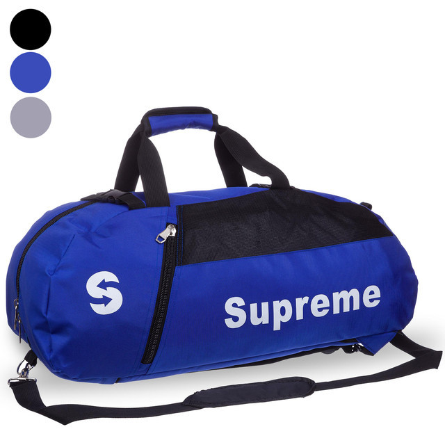 Сумка рюкзак многофункциональный 2в1 supreme 8191: размер 60х27х24см (3 цвета) фото №1