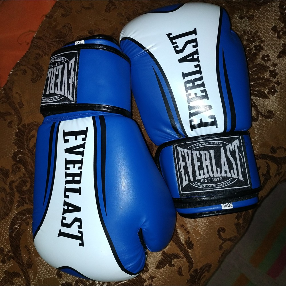 Боксерские перчатки everlast 10 oz фото №1