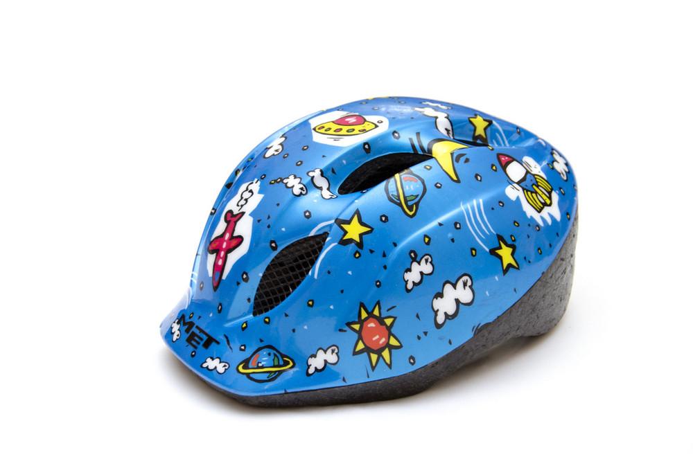 Детский шлем met reflex point. на возраст 3-4 года фото №1