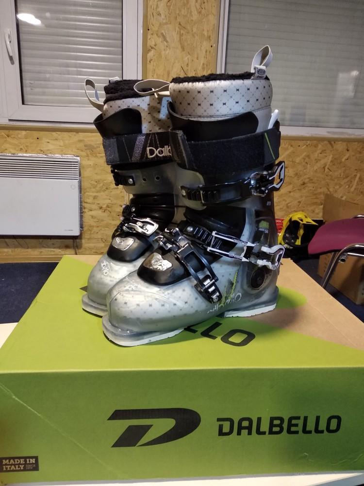 Лыжные горнолыжные женские ботинки dalbello chakra id 95 р. 24,5 фото №1