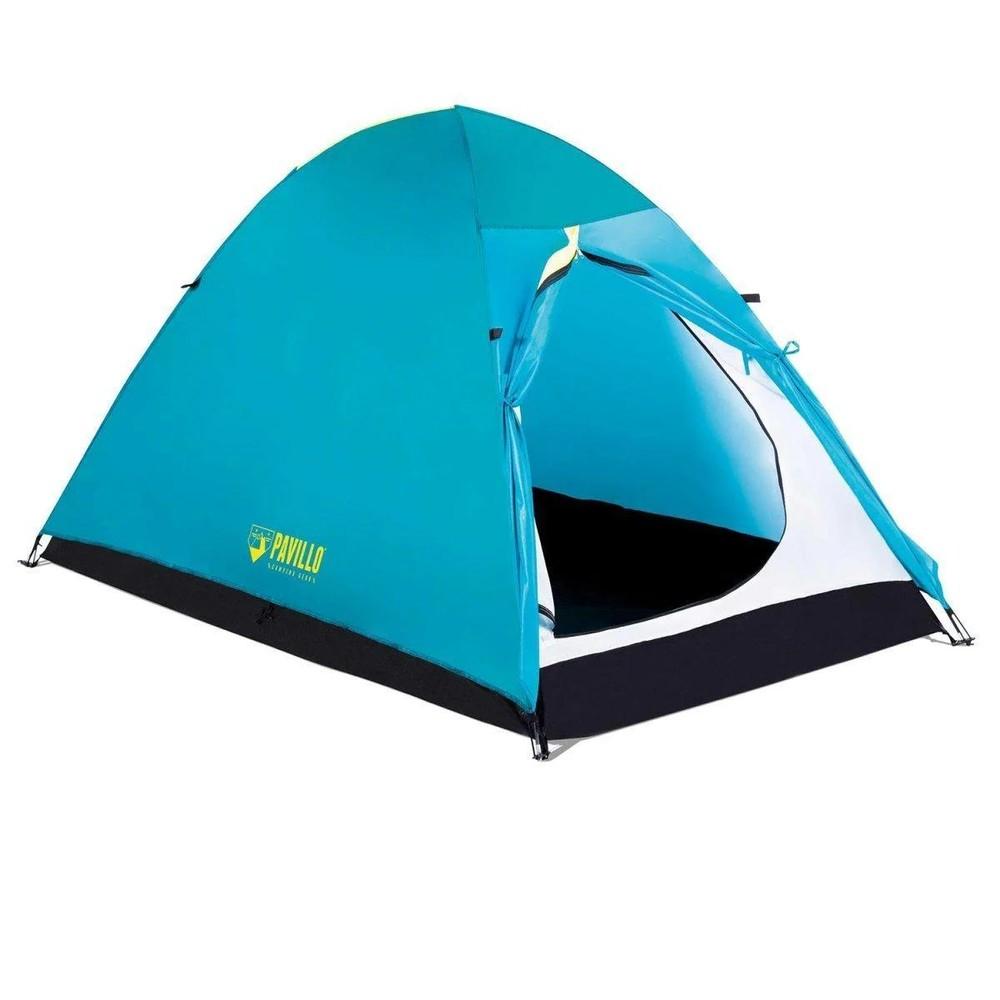 Двухместная палатка pavillo bestway 68089 «active base 2», 200х120х105см фото №1
