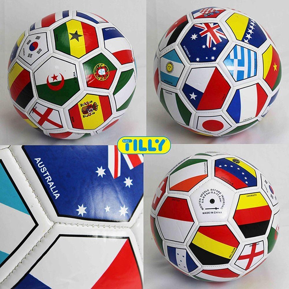 Мяч футбольный bt-fb-0195 фото №1
