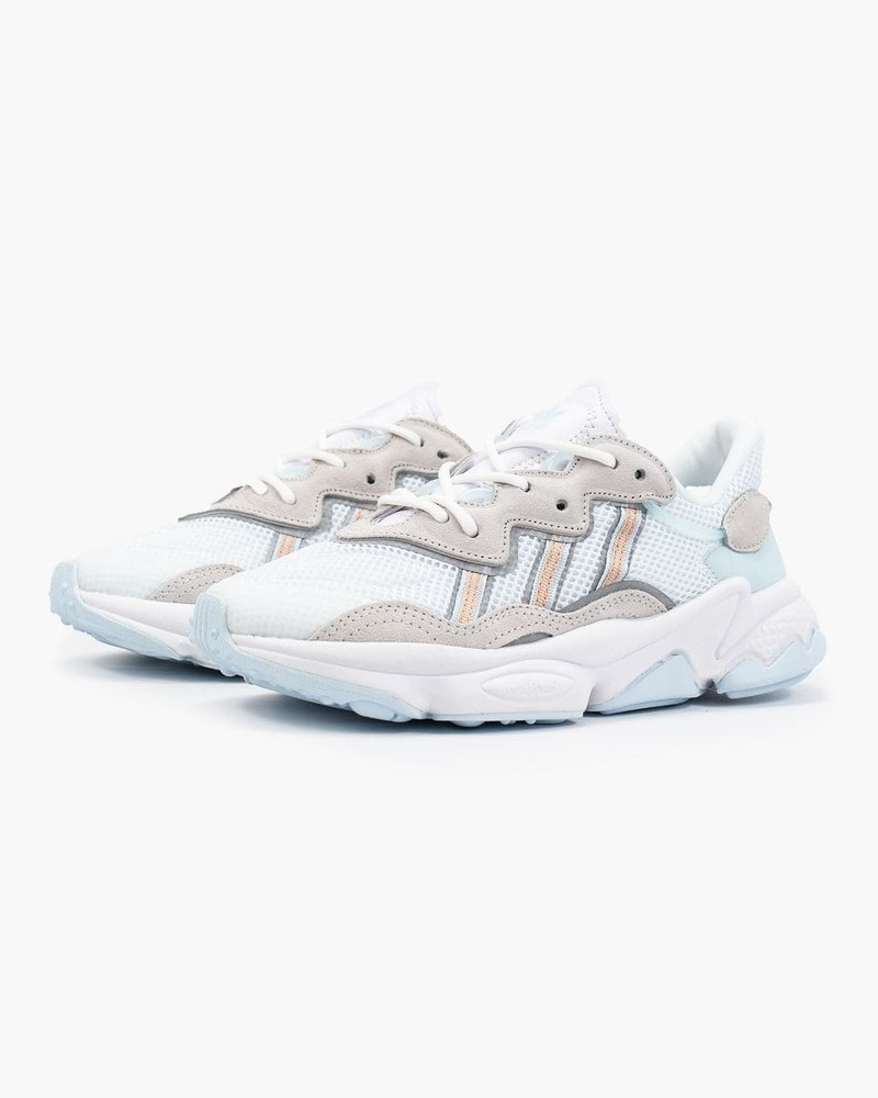 Женские кроссовки adidas ozweego white (aaa+) 36-37-38-39-40-41 фото №1