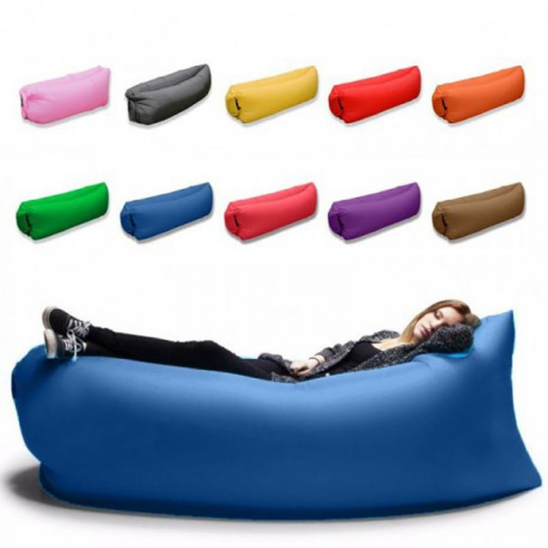 Надувной диван кресло мешок ламзак (lamzac) надувной матрас фото №1