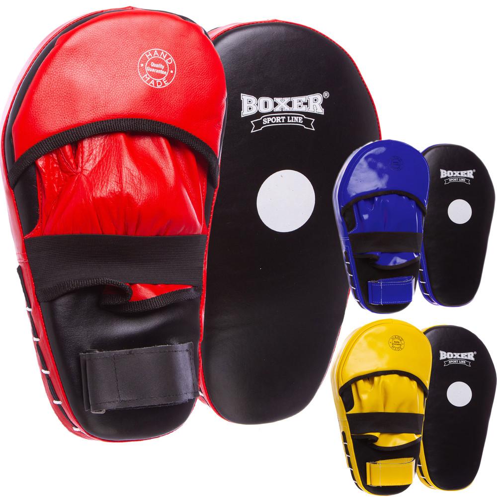 Лапа прямая удлиненная кожаная boxer 2007-01: 2 лапы в комплекте (40х21х4,5см) фото №1
