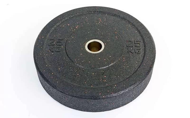 Бамперные диски для кроссфита bumper plates ta-5126-25 фото №1