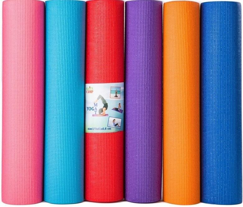 Коврики спортивные для фитнеса и йоги фото №1