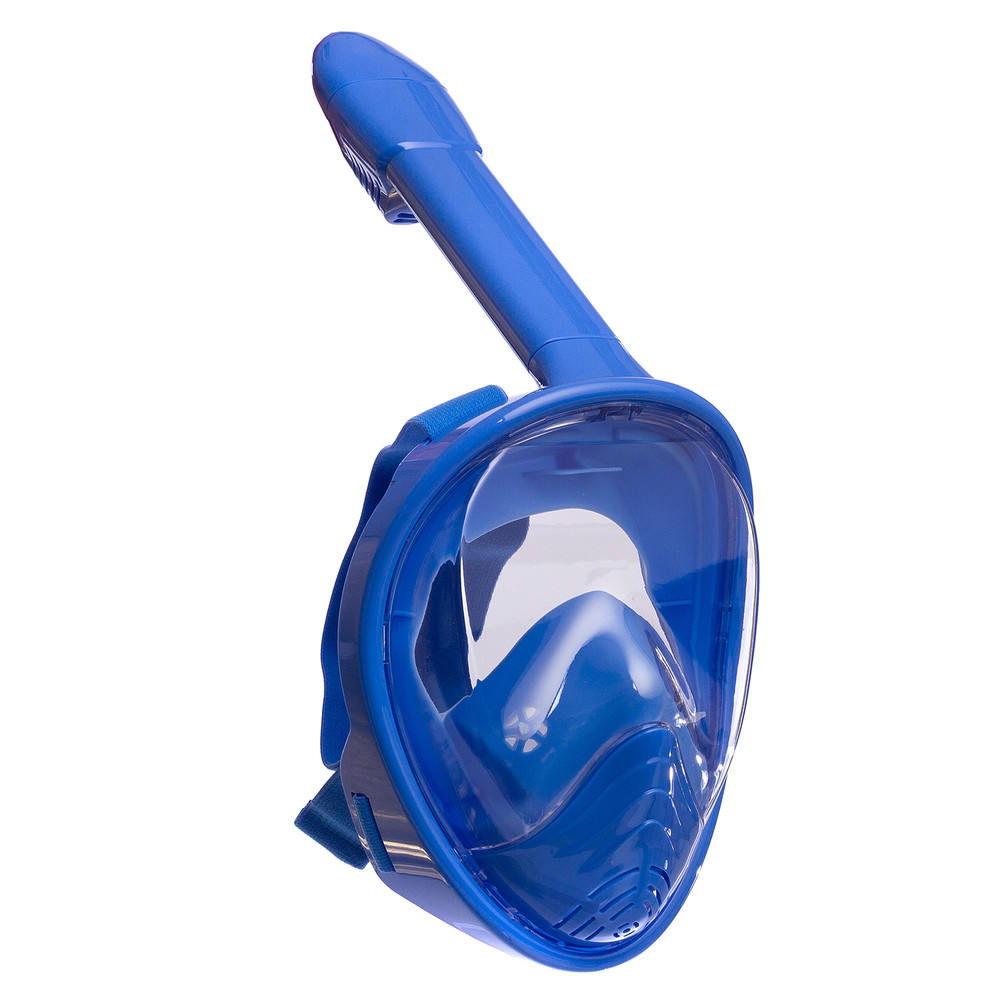 Маска с дыханием через нос для снорклинга детская snorkeling set 1294: силикон, размер xs (6-12 лет) фото №1