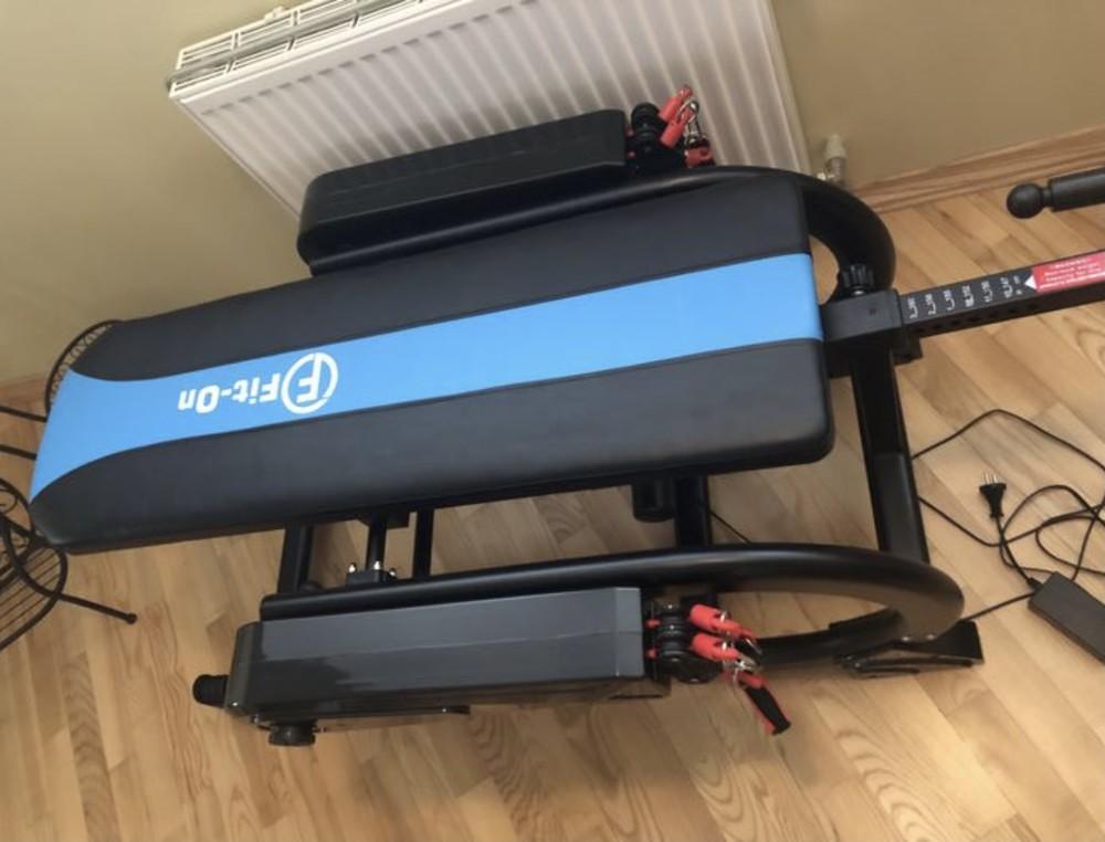Інверсійний стіл з мотором fit-on master фото №1