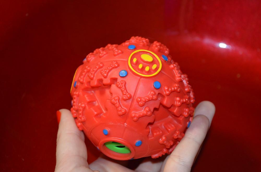 Мяч игрушка для собак фото №1