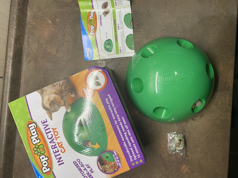 Очень классная игрушка для кота моторизированная pop n play фото №1