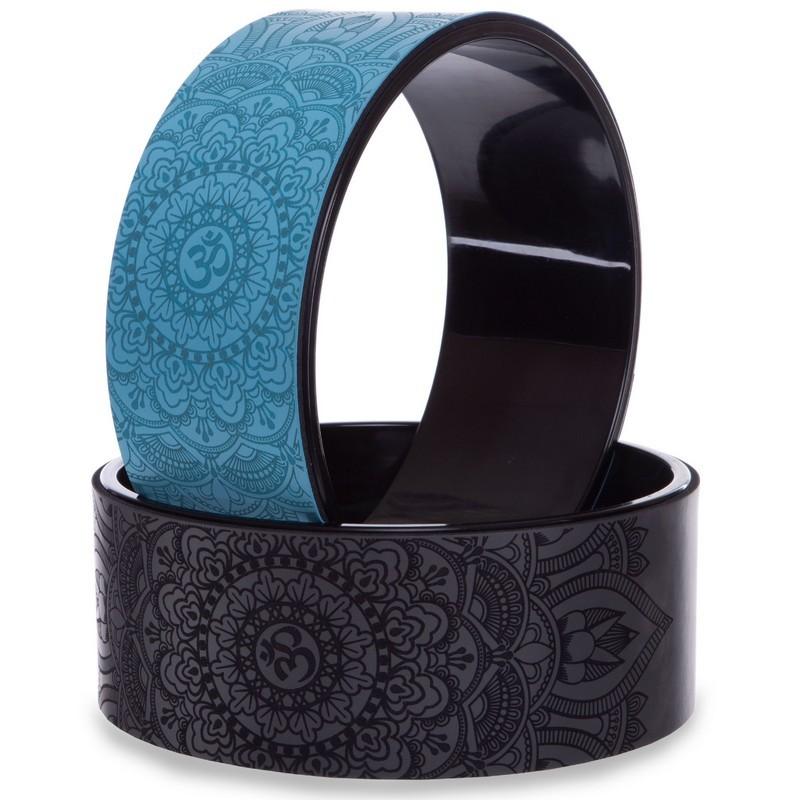 Колесо кольцо для йоги fit wheel yoga 2432: размер 33х14см фото №1