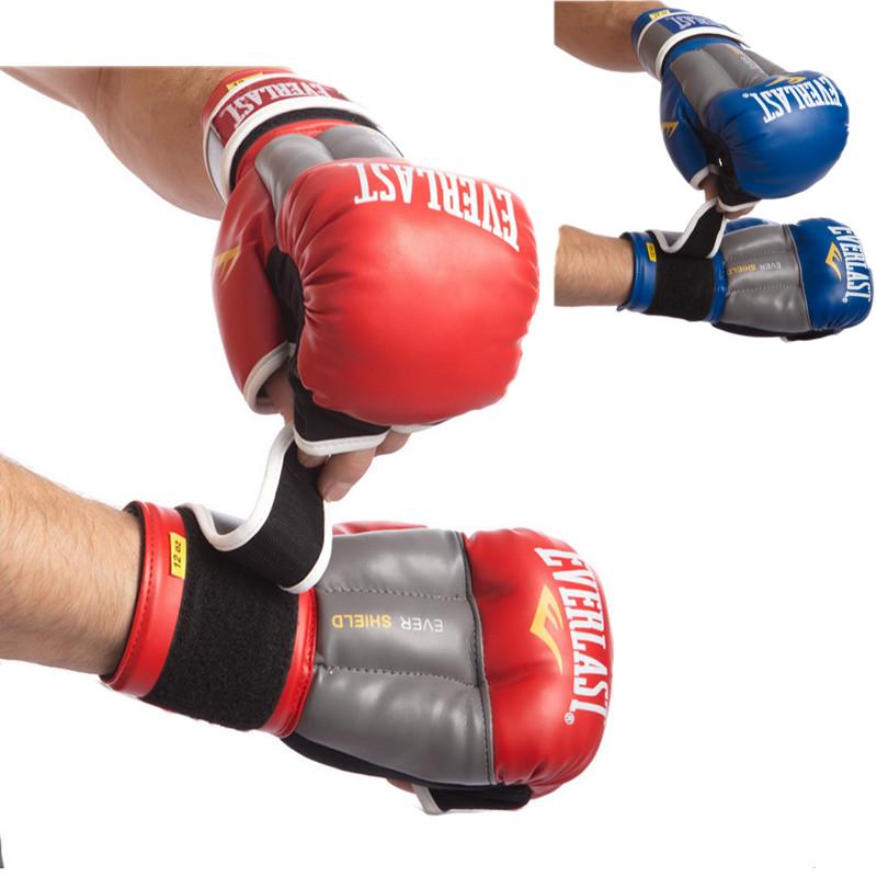 Перчатки гибридные для единоборств everlast 0272: 10-12 унций (2 цвета) фото №1