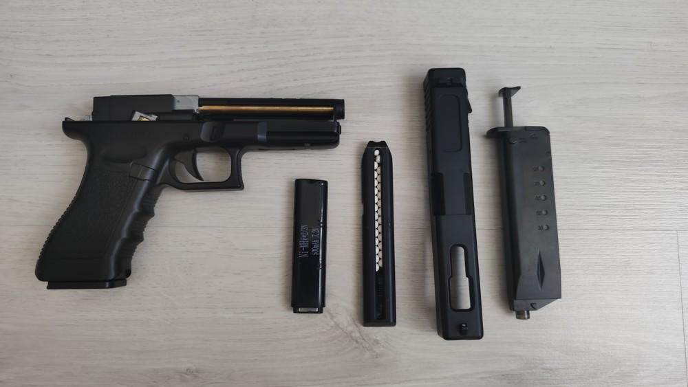 Пістолет cyma glock 18 фото №1